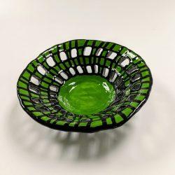 Hand-built ceramic bowl