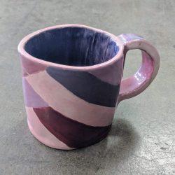 Hand-built ceramic mug