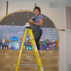 Jerusalem Wall mosaic